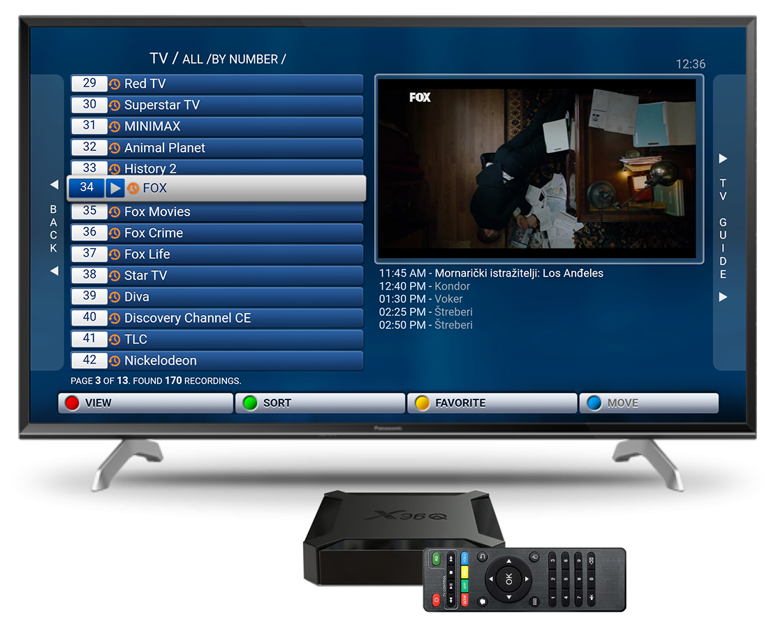 Android smart uređaj uz TV pakete